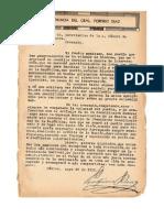 Renuncia del General Porfirio Diaz