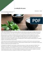 Chá Verde, Um Aliado Na Redução de Peso - Lucilia Diniz