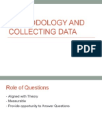 methodology and collecting data