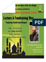 alqalam fundraising iftar sunday july 20th 2014