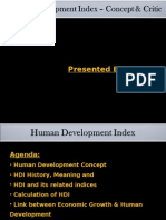 Human Development Index-India