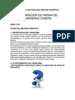 Proyecto Con Pasos Del Mëtodo Científico 2014