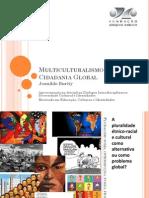 Multiculturalismo e Cidadania Global - PMECI-Fundaj