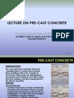 Pre-fabricated Concrete