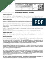 Gabarito Comentado PS2 9ºano 2014
