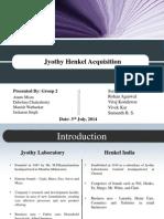 Jyothy Henkel merger