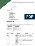 Crafting_CompleteList - Minecraft Wiki