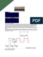 Power Screw
