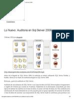 Lo Nuevo_ Auditoria en SQL Server 2008 «
