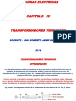 transformadores trifásicos-máquinas electricas
