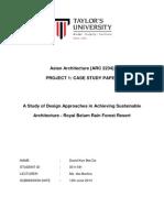 Asian Architecture_Project 1_Case Study Paper_David Koo Mei Da_0311181