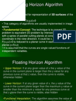 Floating Horizon Algorithm