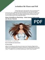 Freistellungstechniken Für Haare Und Fell