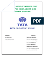 TCS- tata consultancy service