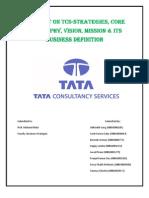 TCS- tata consultancy service