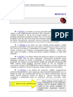 managementul calitatii - rezumat