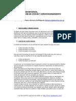 Logistica-costos de Inventarios, Planificacion de Stocks y Aprovisionamiento