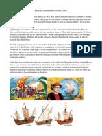 Biografía Resumida de Cristóbal Colón
