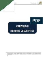 Memoria Descriptiva c.m. Huallanca II