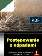 M Gorski Interpretacja Prawna Zapisow Ustawy o Odpadach