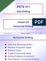 (3) 34. Horizontal Drilling