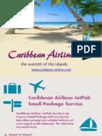 Caribbean Airlines Jetpak Service