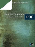 Patente de Corso. Artículos 2012. Volumen II