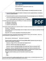 Pactera Transcription Guidelines