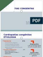 CARDIOPATIAS CONGENITAS 2012