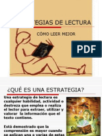 Estrategias de Lectura 2014 Resumen
