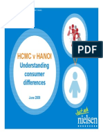 Nielsen - HCMC vs Hanoi - Regional Consumer Differences