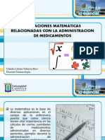 Operaciones Para Adminsitarcion Medicamentos