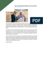 VII Encuentro de Contratistas Mineros Perú 2013