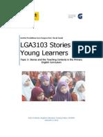 Lga3103 Topic 3