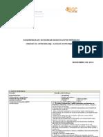 Lengua Extranjera I_secuencia Didactica Elaborada Secuencia 2012
