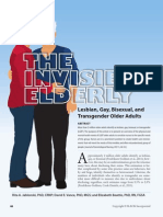 The Invisible Elderly, Lesbian, Gay, Bisexual, And Transgender Older Adults