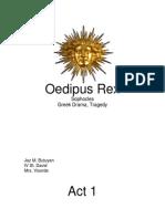 Oedipus Rex Script