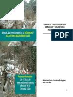 Manual de Denuncias Medioambientales