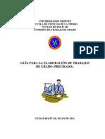 Guía Para Elaborar Trabajo de Grado (1) Junio2012