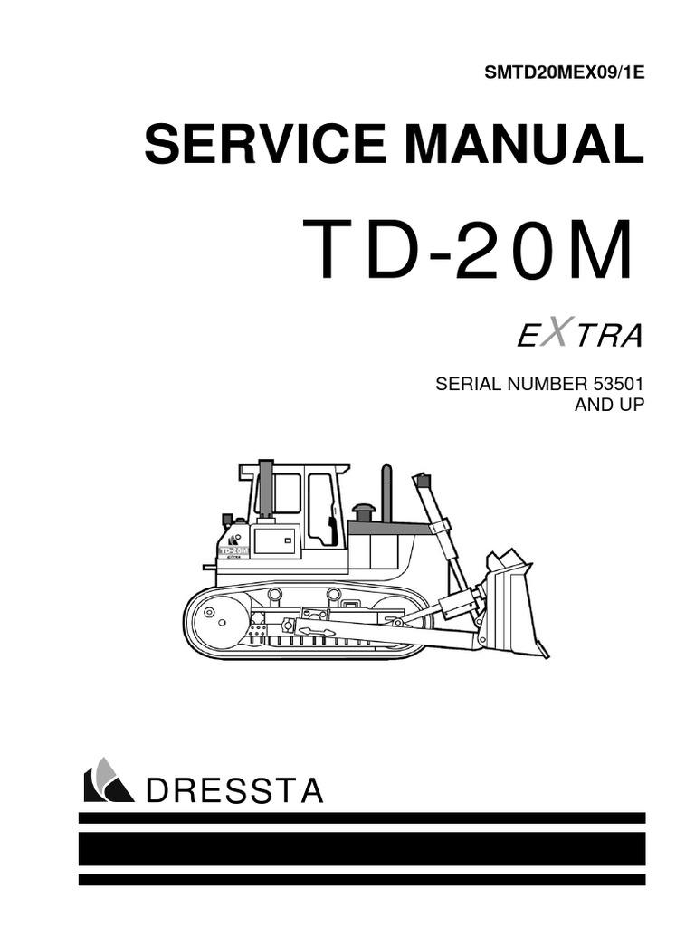 Terex 860 Manual