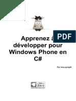 Developper Pour Windows Phone en C#