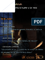 Cartel Mesa Redonda Literatura Rumana SEMANA DE LA POESÍA 2013
