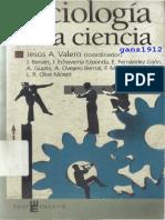 Sociología de la Ciencia (Valero, ed., 2004)