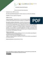 Descripción General Del Proyecto ANA