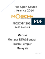 Venue For Malaysia Open Source Conference 2014 MOSCMY 2014 24-25 Sept 2014