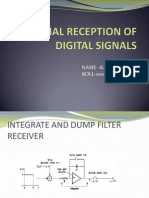 optimal reception of digital signals
