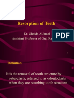 Resorption of Teeth-radio 3