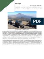 Conociendo de Cerca Al Volcán Popocatépetl