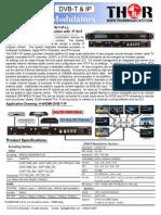 4 Ch Hdmi Dvb-t RF Modulator with IP out