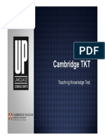 Cambridge TKT